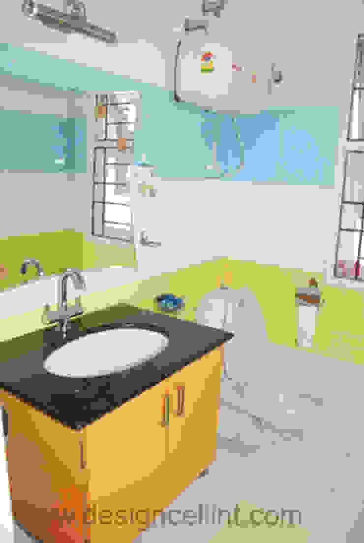 Bathroom designs: modern  by Design Cell Int,Modern