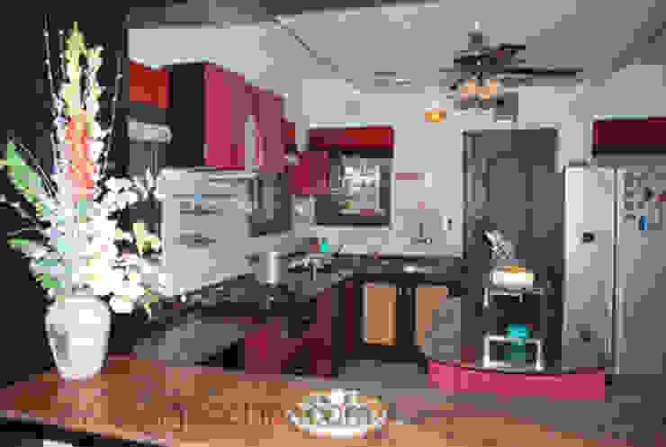 kitchen designs: modern  by Design Cell Int,Modern