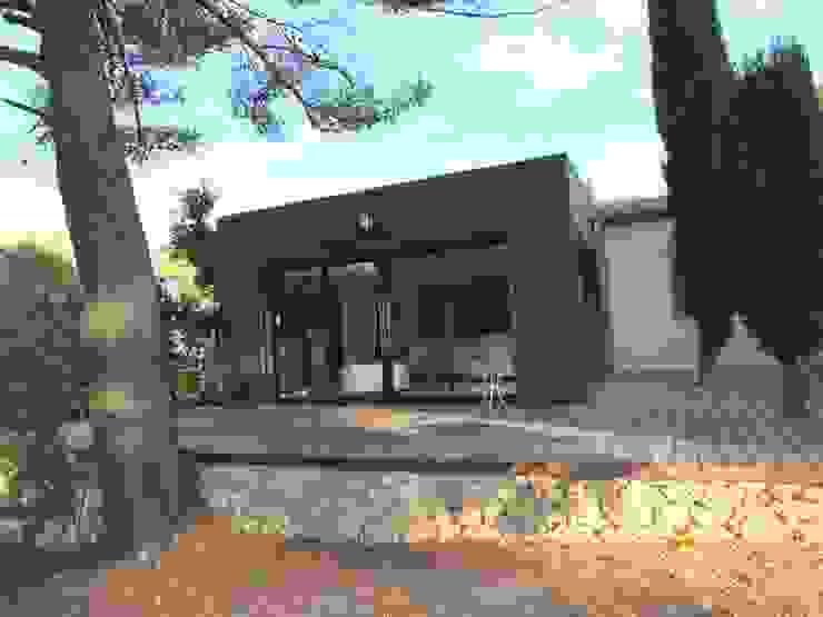 Maison D, Allauch Maisons modernes par MEDAH ARCHITECTURE ET ECO LOGIS Moderne