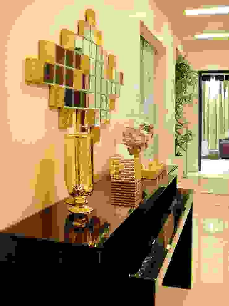 Residence Design, Sandesh Vihar H5 Interior Design Modern corridor, hallway & stairs