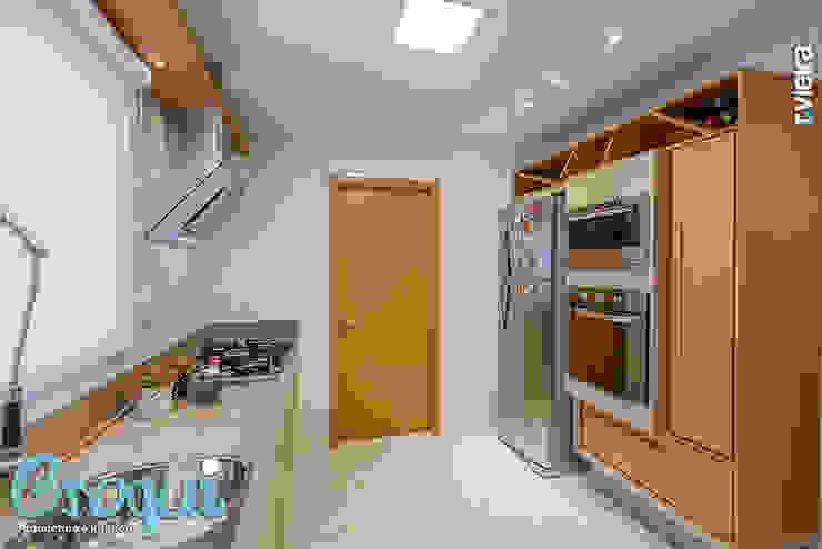 Cozinha Cozinhas modernas por Croqui Arquitetura e Interiores Moderno MDF