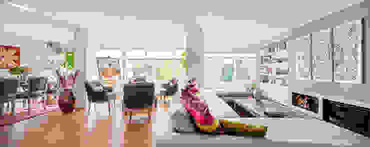 Modern living room by Luzestudio Fotografía Modern