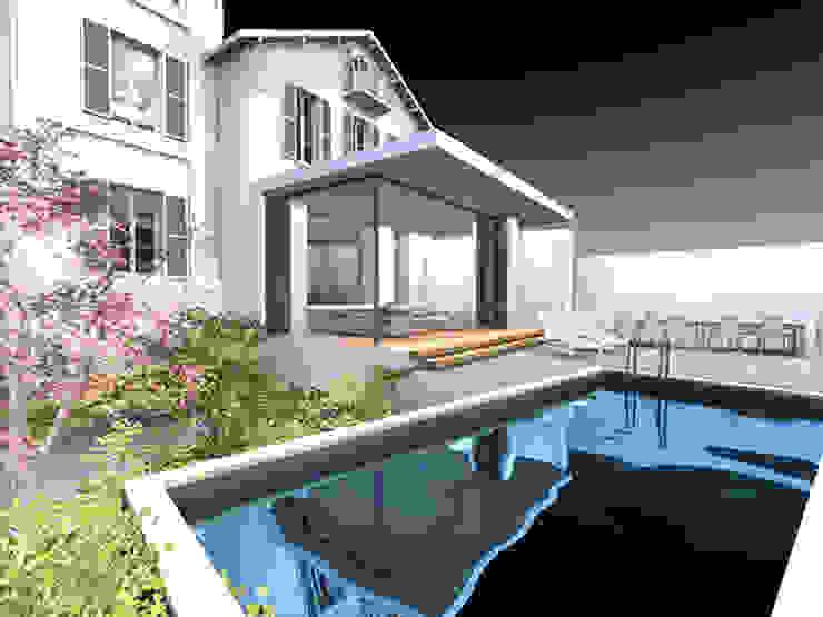 Villa Bre&Cas Piscine moderne par Y architecture Moderne