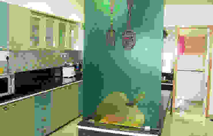 Kitchen Graphics Modern kitchen by BION Creations Pvt. Ltd. Modern