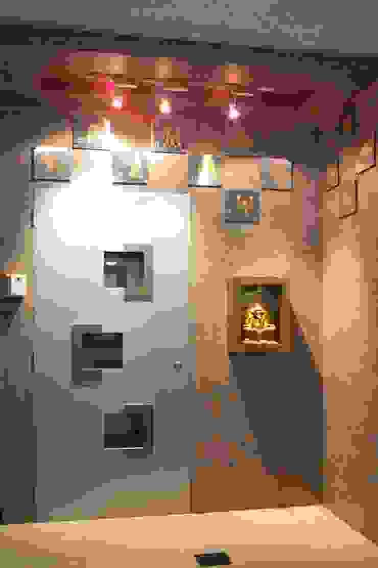 Shepherd Residency Modern living room by suneil Modern