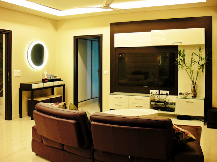 H5 Interior Design Modern style media rooms