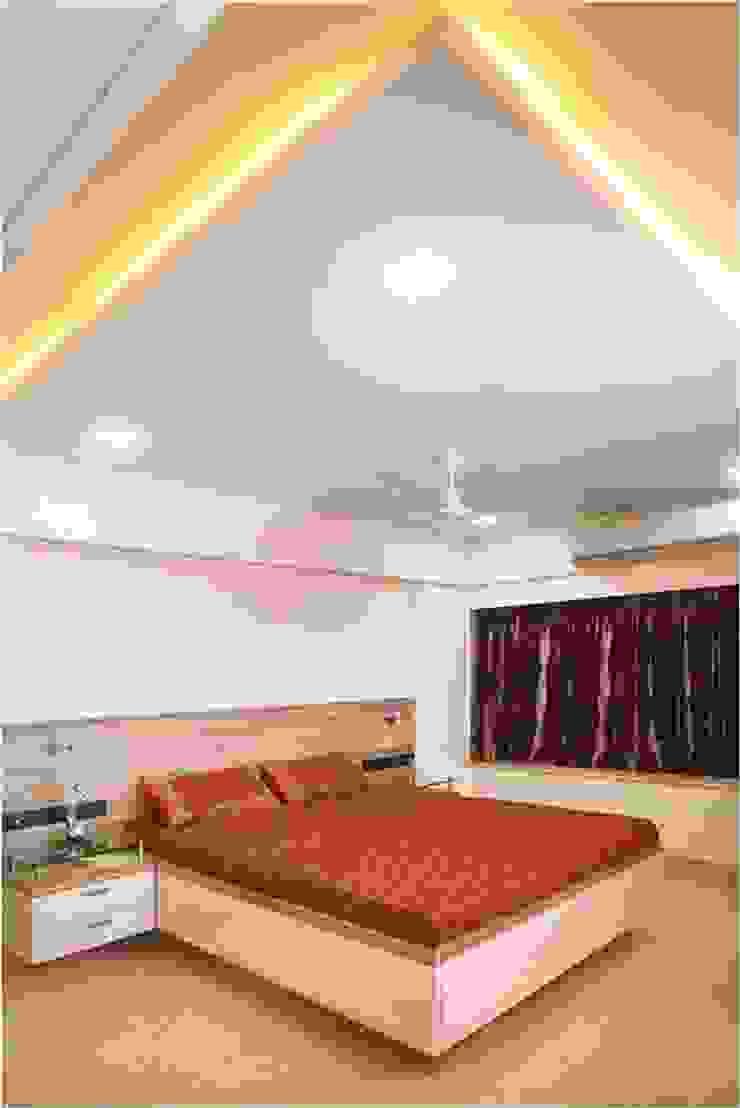 Pali Hill, Bandra Modern style bedroom by suneil Modern
