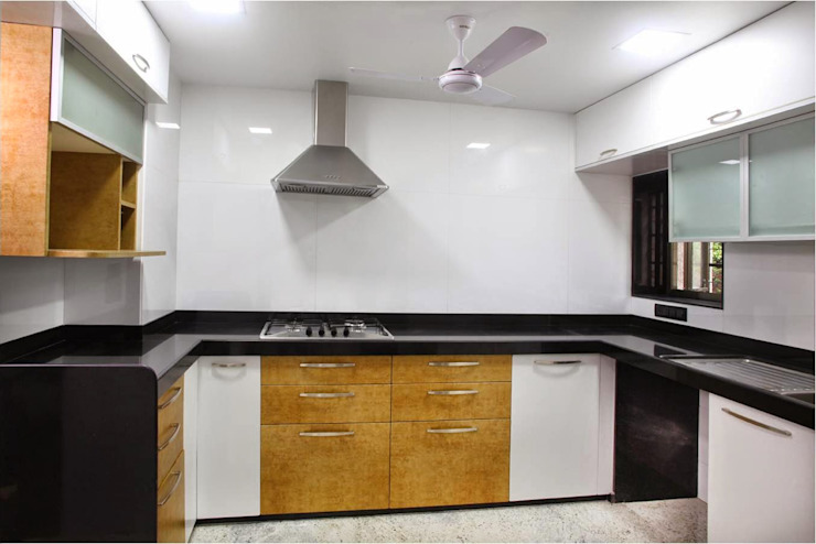 Pali Hill, Bandra Modern kitchen by suneil Modern