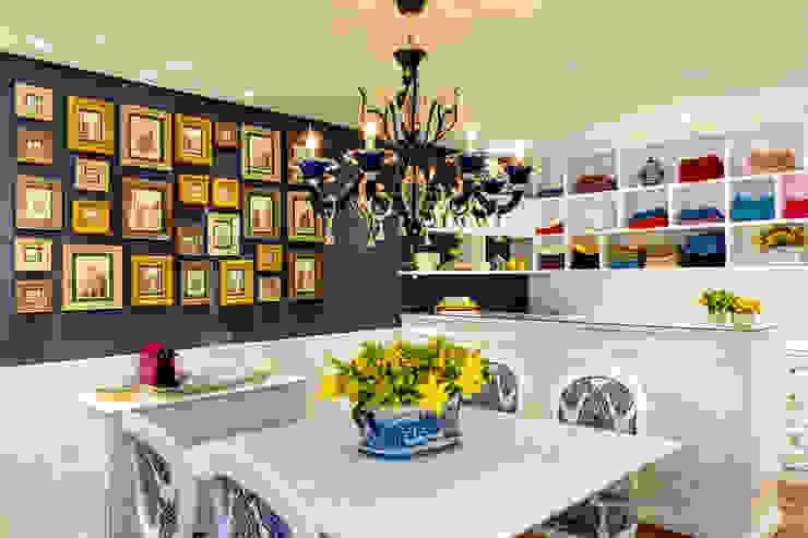 Loja de artigos de mesas decoradas Lojas & Imóveis comerciais coloniais por Milla Holtz & Bruno Sgrillo Arquitetura Colonial