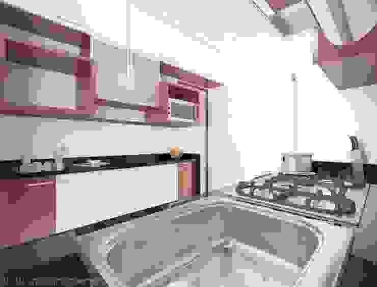Rustomjee, Thane Modern kitchen by suneil Modern
