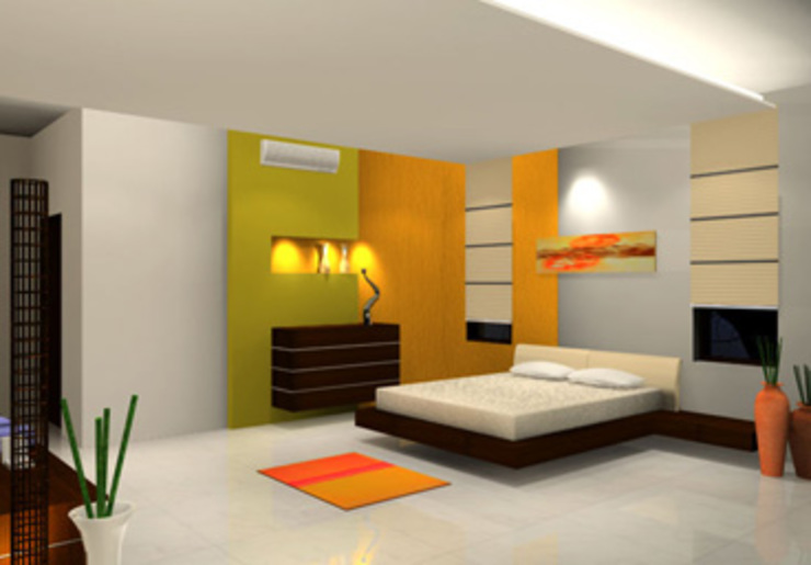 Bedroom Designs Modern style bedroom by DecMore Interiors Modern