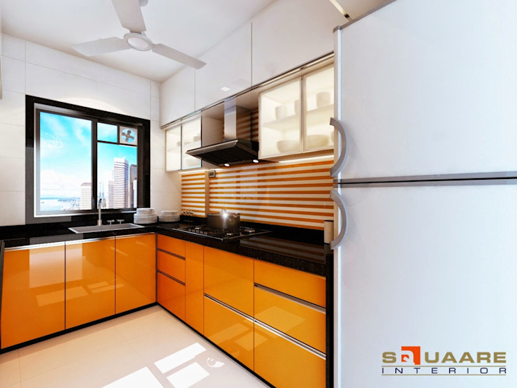 Malad Modern kitchen by suneil Modern