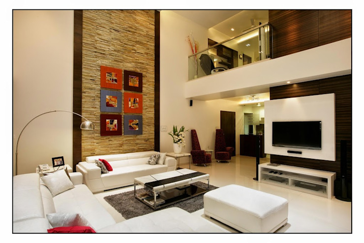 LIVING ROOM Designs Artek-Architects & Interior Designers Modern living room