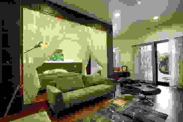 Mr.nailesh shah bungalow Modern living room by P & D Associates Modern
