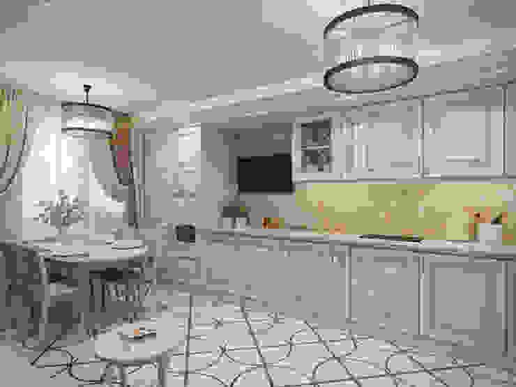 مطبخ تنفيذ Студия дизайна интерьера Маши Марченко, كلاسيكي