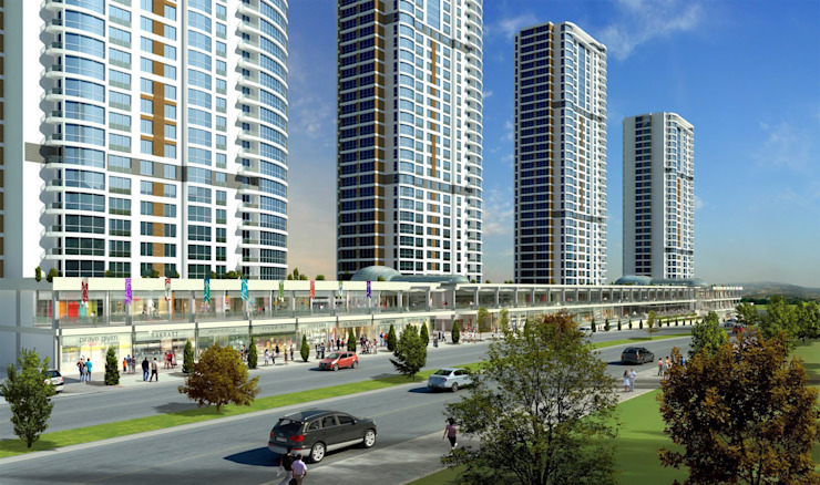 CCT 165 Project in Bahcesehir Modern Evler CCT INVESTMENTS Modern