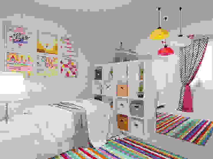 غرفة الاطفال تنفيذ Студия дизайна интерьера Маши Марченко, كلاسيكي