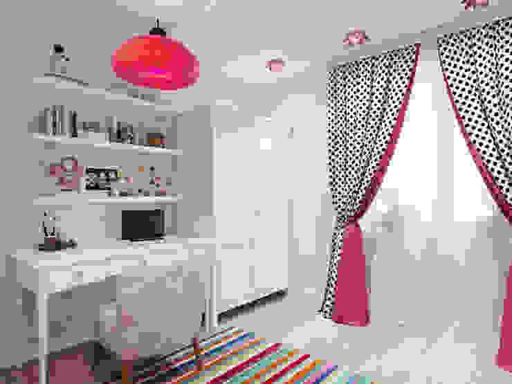غرفة الاطفال تنفيذ Студия дизайна интерьера Маши Марченко,