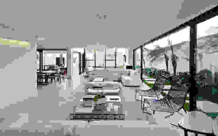SALA DE ESTAR 02 Salas de estar modernas por Conrado Ceravolo Arquitetos Moderno