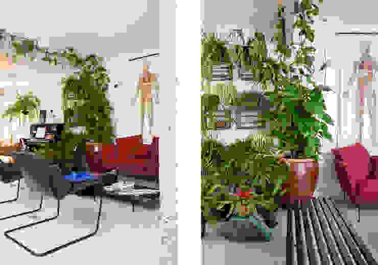 Phòng khách phong cách tối giản bởi RSRG Arquitetos Tối giản
