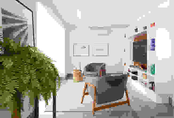 Salones modernos de INÁ Arquitetura Moderno