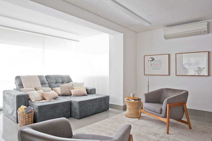 INÁ Arquitetura غرفة المعيشة