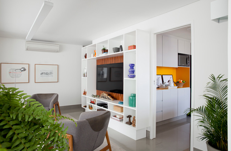 INÁ Arquitetura غرفة السفرة