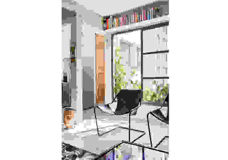RSRG Arquitetos Ruang Keluarga Minimalis