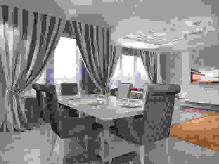 Квартира в современном классическом стиле, г. Пушкин Кухня в классическом стиле от Студия дизайна интерьера Маши Марченко Классический