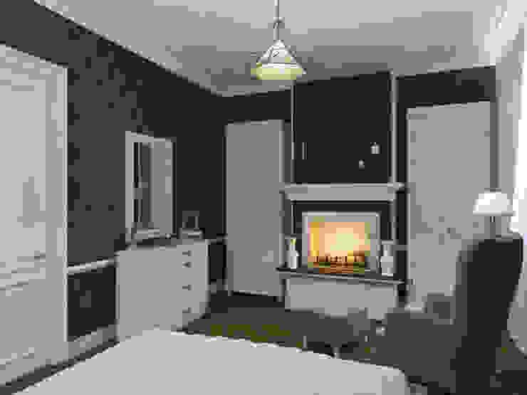 Квартира в современном классическом стиле, г. Пушкин Спальня в классическом стиле от Студия дизайна интерьера Маши Марченко Классический