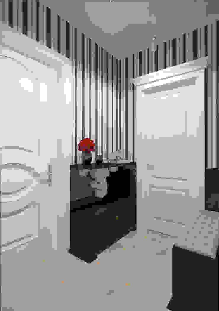Квартира в современном классическом стиле, г. Пушкин Коридор, прихожая и лестница в классическом стиле от Студия дизайна интерьера Маши Марченко Классический