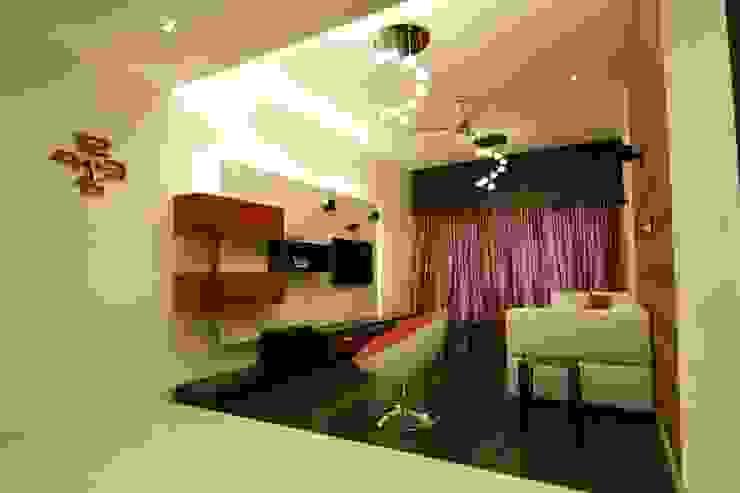 Residence in Jayanagar Modern living room by Design Cafe Modern