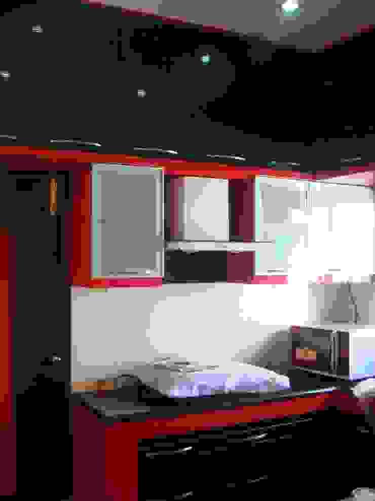Residence in Jayanagar Modern kitchen by Design Cafe Modern