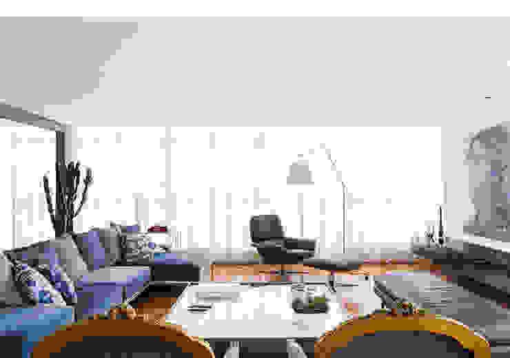 RSRG Arquitetos Salas de estilo minimalista