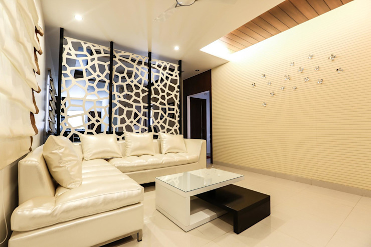 Model Flat Modern living room by Design Cafe Modern