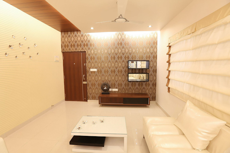Model Flat:  Living room by Design Cafe