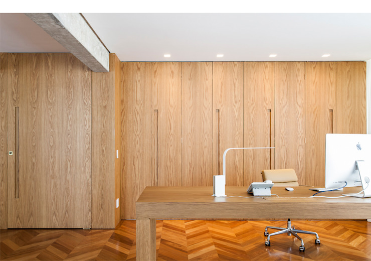 Minimalist study/office by RSRG Arquitetos Minimalist