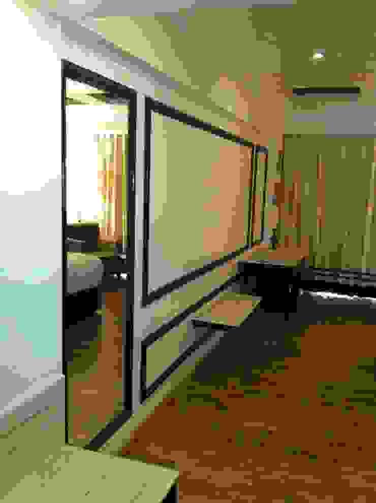 Hotel in Mysore Modern living room by Design Cafe Modern