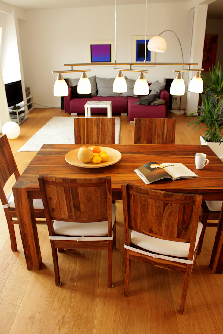 Modern dining room by ORTerfinder Modern Wood Wood effect