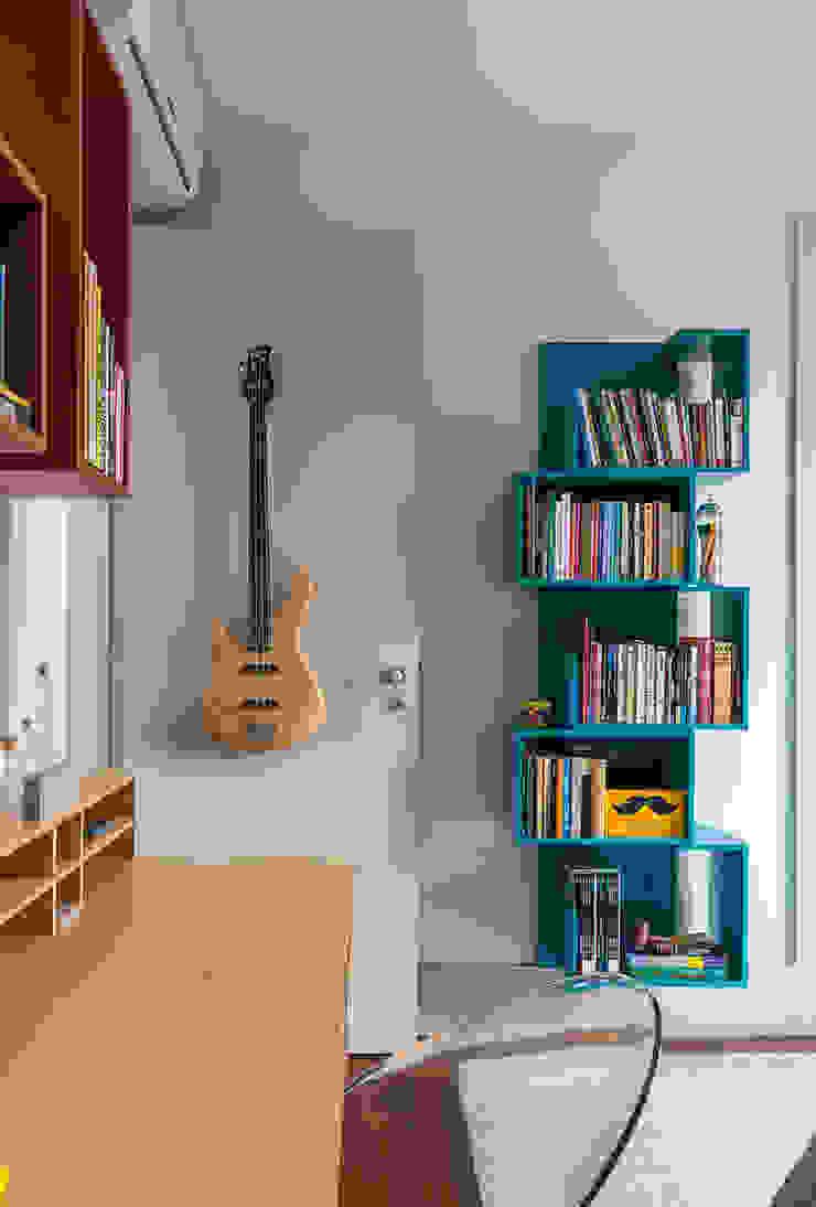 Sampaio Vidal Quartos modernos por Eliane Mesquita Arquitetura Moderno