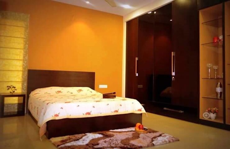 Livin interiors Modern style bedroom