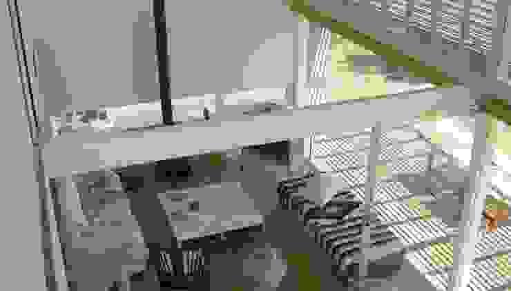 CASA LAGUNA EL ROSARIO Livings modernos: Ideas, imágenes y decoración de Frias+Tomchinsky Arquitectos Moderno