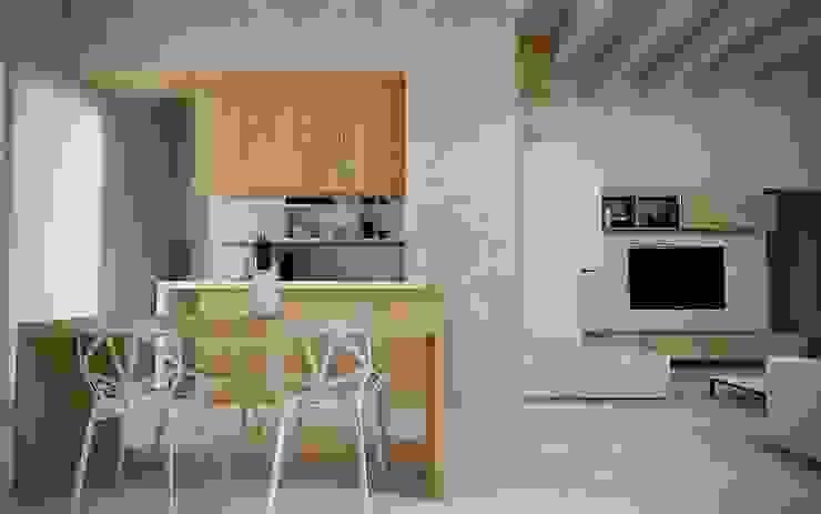 Renders&Progetti Cucina moderna di Giuseppe DE DONNO - architetto Moderno