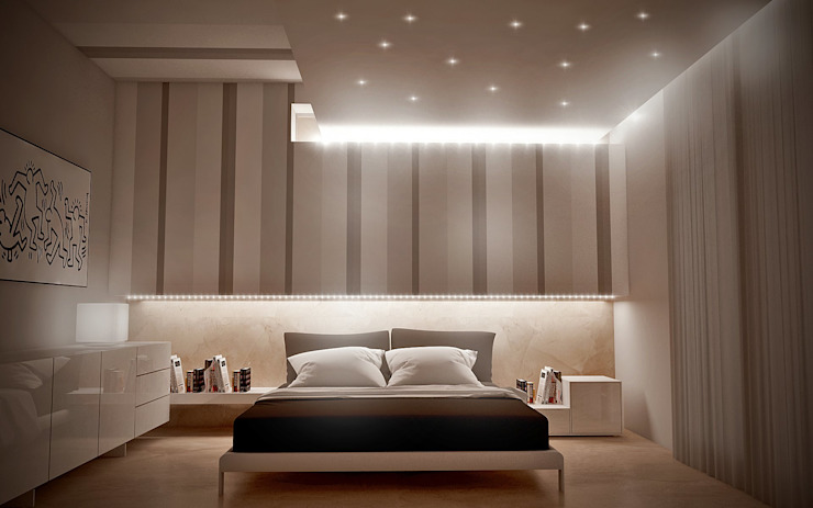 Modern style bedroom by Giuseppe DE DONNO - architetto Modern