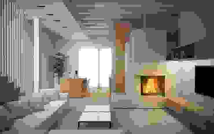 Modern Living Room by Giuseppe DE DONNO - architetto Modern