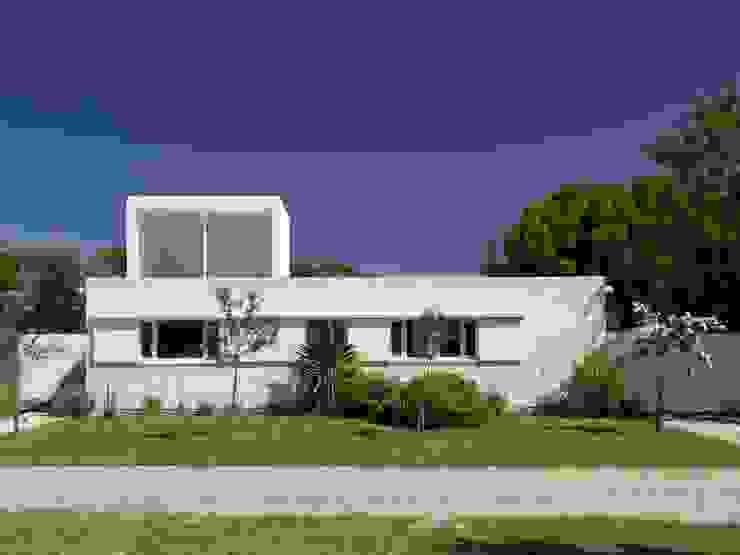 Casa Ennis Saavedra Casas modernas: Ideas, imágenes y decoración de Bares Bares Bares Schnack | Estudio de Arquitectura Moderno
