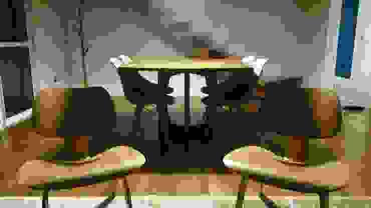 Intervención Bochera en Sao Paulo Modern Dining Room by La Bocheria Modern