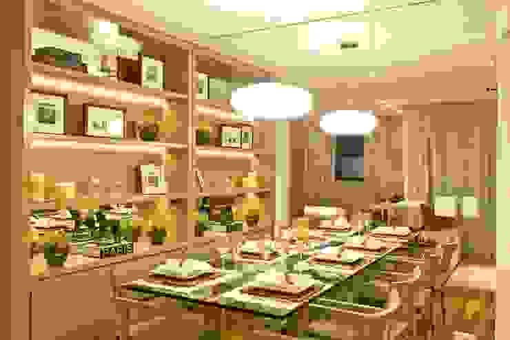 Apartamento 145 Salas de jantar modernas por Viviane Tabalipa Arquitetura Moderno