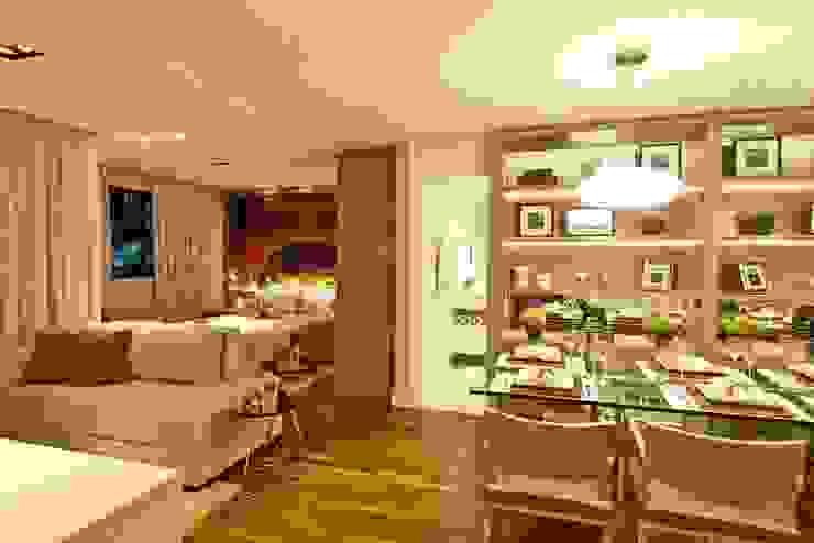 Apartamento 145 Salas de estar modernas por Viviane Tabalipa Arquitetura Moderno