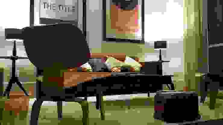 Intervención Bochera en Sao Paulo Modern living room by La Bocheria Modern